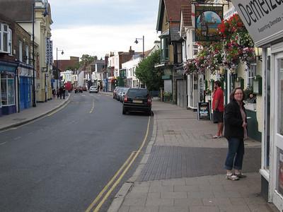 Main drag in Whitstable
