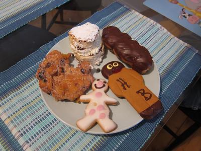 Treats from local bakery