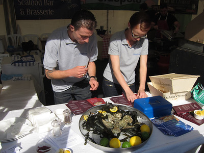 Not a food event without oysters
