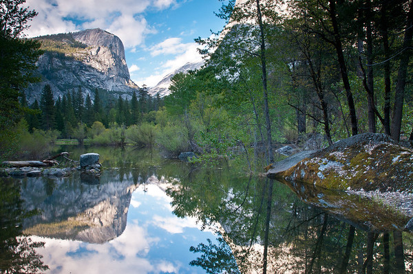 Mirror Lake, non-HDR, using my filters this time!
