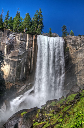 Vernal Falls, from the mist trail