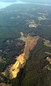 Maryland Airport, just south of the Potomac River