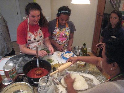 """Youth Pizza Making """"Competition"""""""
