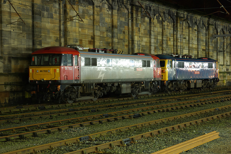 86702 + 87002 stabled at Carlisle 01/01/11