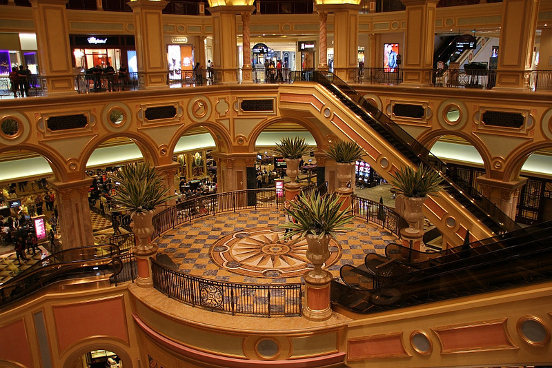 Shopping & gambling.  Nope, didn't gamble.
