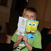 spongebob card