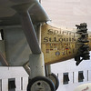 "Spirit of St. Louis, the aircraft that was flown solo by Charles Lindbergh on May 20–21, 1927, on the first non-stop flight from New York to Paris.  National Air and Space Museum. Check out <a href=""http://en.wikipedia.org/wiki/Spirit_of_St._Louis"">http://en.wikipedia.org/wiki/Spirit_of_St._Louis</a><br /> <br /> A story that captured my imagination when I was young ;)"