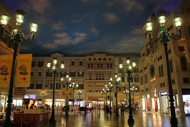 St Mark Square.  The Venetian.