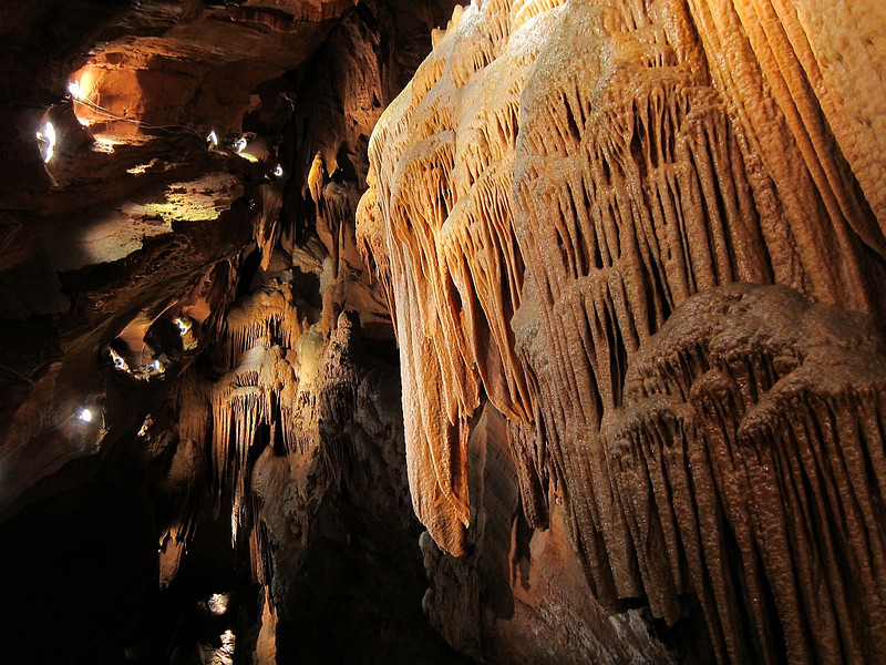 Photos cannot show you how beautiful these stalactites are!!