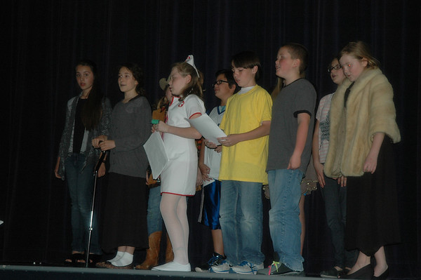 Middle School Drama Club March