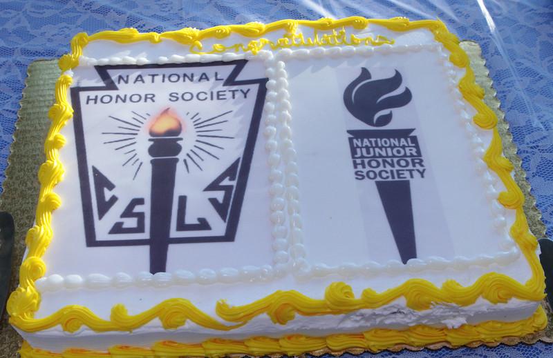 National Honor Society cake!