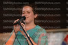 Senior Isabel Zacharias sings at The Big Event on Sept. 2.