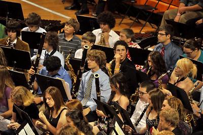 Band performing at the SHS Graduation 2012