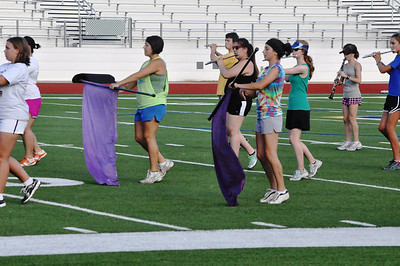Marching Band Camp August 3, 2011 edit