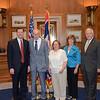 John Urbigkit of Wyoming and his guests visiting his senators