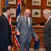 John Urbigkit of Wyoming visiting his senators