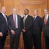 Marty Lyons, John La Gatta, Troy Vincent, David Saltzman, Gerald Chertavian