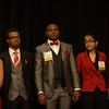 Ambassador Students from Thornton High School District 205, Chicagoland Region are introduced at the Welcome Dinner.