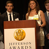 Nate Dusseau and Mackenzie Cupp of Springfield High School, Toledo region, received top Ambassador School honors 2014.