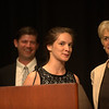 Alex Beard, Jefferson Awards Foundation Board Member and Madeline Seel of Shaler Area High School in Pittsburgh, PA.