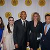 Maria Keller, Lillian Pravda, Mariano Rivera, Hillary Schafer & Andrew Shue