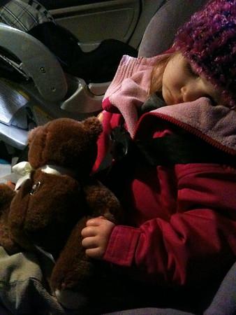 Mackenzie Asleep