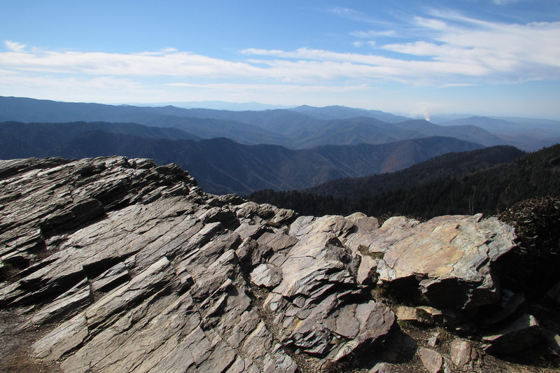 Cliff Tops Overlook on Mt Leconte