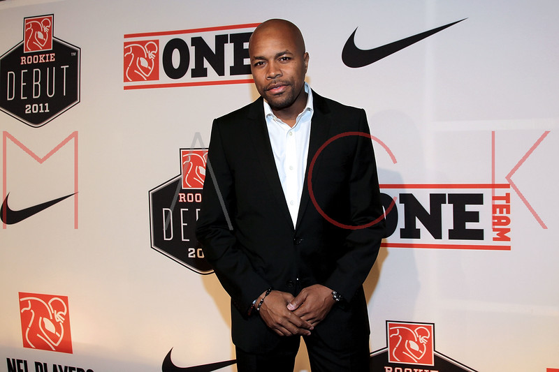 """NEW YORK, NY - APRIL 30:  DJ D-Nice attends the 2011 NFLPA Rookie Debut """"One Team"""" Celebration at Cipriani Wall Street on April 30, 2011 in New York City.  (Photo by Steve Mack/S.D. Mack Pictures) *** Local Caption *** D-Nice"""