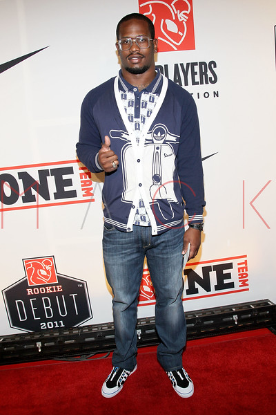 """NEW YORK, NY - APRIL 30:  Von Miller attends the 2011 NFLPA Rookie Debut """"One Team"""" Celebration at Cipriani Wall Street on April 30, 2011 in New York City.  (Photo by Steve Mack/S.D. Mack Pictures) *** Local Caption *** Von Miller"""