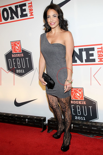 "NEW YORK, NY - APRIL 30:  Joumana Kidd attends the 2011 NFLPA Rookie Debut ""One Team"" Celebration at Cipriani Wall Street on April 30, 2011 in New York City.  (Photo by Steve Mack/S.D. Mack Pictures) *** Local Caption *** Joumana Kidd"
