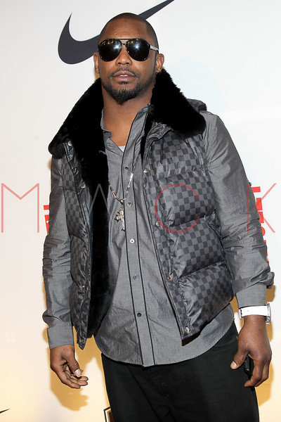 "NEW YORK, NY - APRIL 30:  Ahmad Bradshaw attends the 2011 NFLPA Rookie Debut ""One Team"" Celebration at Cipriani Wall Street on April 30, 2011 in New York City.  (Photo by Steve Mack/S.D. Mack Pictures) *** Local Caption *** Ahmad Bradshaw"