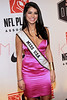 "NEW YORK, NY - APRIL 30:  Miss USA Rima Fakih attends the 2011 NFLPA Rookie Debut ""One Team"" Celebration at Cipriani Wall Street on April 30, 2011 in New York City.  (Photo by Steve Mack/S.D. Mack Pictures) *** Local Caption *** Rima Fakih"