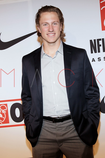 "NEW YORK, NY - APRIL 30:  Blaine Gabbert attends the 2011 NFLPA Rookie Debut ""One Team"" Celebration at Cipriani Wall Street on April 30, 2011 in New York City.  (Photo by Steve Mack/S.D. Mack Pictures) *** Local Caption *** Blaine Gabbert"