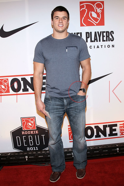 """NEW YORK, NY - APRIL 30:  Ryan Kerrigan attends the 2011 NFLPA Rookie Debut """"One Team"""" Celebration at Cipriani Wall Street on April 30, 2011 in New York City.  (Photo by Steve Mack/S.D. Mack Pictures) *** Local Caption *** Ryan Kerrigan"""