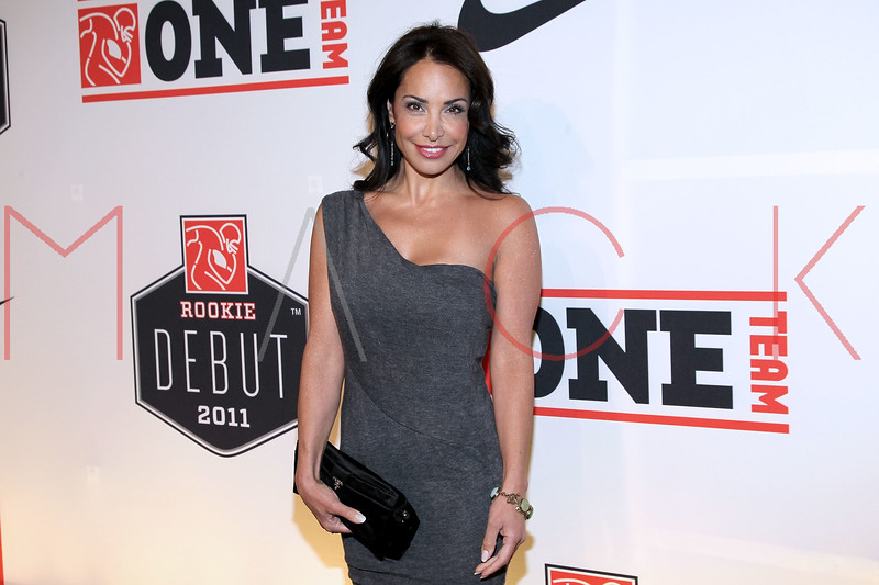 """NEW YORK, NY - APRIL 30:  Joumana Kidd attends the 2011 NFLPA Rookie Debut """"One Team"""" Celebration at Cipriani Wall Street on April 30, 2011 in New York City.  (Photo by Steve Mack/S.D. Mack Pictures) *** Local Caption *** Joumana Kidd"""