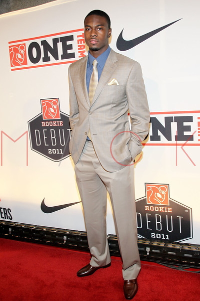 "NEW YORK, NY - APRIL 30:  A.J. Green attends the 2011 NFLPA Rookie Debut ""One Team"" Celebration at Cipriani Wall Street on April 30, 2011 in New York City.  (Photo by Steve Mack/S.D. Mack Pictures) *** Local Caption *** A.J. Green"