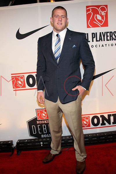 "NEW YORK, NY - APRIL 30:  J.J. Watt attends the 2011 NFLPA Rookie Debut ""One Team"" Celebration at Cipriani Wall Street on April 30, 2011 in New York City.  (Photo by Steve Mack/S.D. Mack Pictures) *** Local Caption *** J.J. Watt"