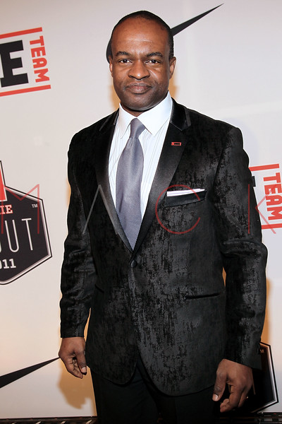 "NEW YORK, NY - APRIL 30:  De Maurice Smith attends the 2011 NFLPA Rookie Debut ""One Team"" Celebration at Cipriani Wall Street on April 30, 2011 in New York City.  (Photo by Steve Mack/S.D. Mack Pictures) *** Local Caption *** De Maurice Smith"