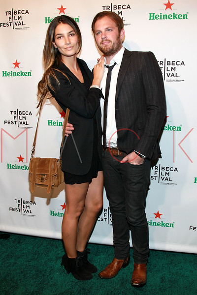 """NEW YORK, NY - APRIL 21:  Model Lily Aldridge and Caleb Followill attend the after party for the premiere of """"Talihina Sky: The Story Of Kings Of Leon"""" during the 10th annual Tribeca Film Festival at Marquee on April 21, 2011 in New York City.  (Photo by Steve Mack/S.D. Mack Pictures) *** Local Caption *** Lily Aldridge; Caleb Followill"""