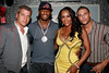 NEW YORK, NY - AUGUST 25:  Tom Murro, Omar 'Slim' White, Vivica A. Fox and Christopher Nirschel attend BJ Coleman's 31st birthday party at The Polar Lounge on August 25, 2011 in New York City.  (Photo by Steve Mack/S.D. Mack Pictures) *** Local Caption *** Tom Murro; Omar 'Slim' White; Vivica A. Fox and Christopher Nirschel