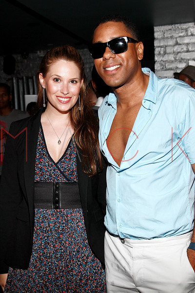 NEW YORK, NY - AUGUST 25:  Yael Lilienfeld and BJ Coleman attend BJ Coleman's 31st birthday party at The Polar Lounge on August 25, 2011 in New York City.  (Photo by Steve Mack/FilmMagic) *** Local Caption *** Yael Lilienfeld; BJ Coleman
