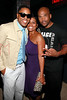 "NEW YORK, NY - AUGUST 25:  BJ Coleman, guest and Darryl ""DMC"" McDaniels attend BJ Coleman's 31st birthday party at The Polar Lounge on August 25, 2011 in New York City.  (Photo by Steve Mack/S.D. Mack Pictures) *** Local Caption *** BJ Coleman; Darryl ""DMC"" McDaniels"