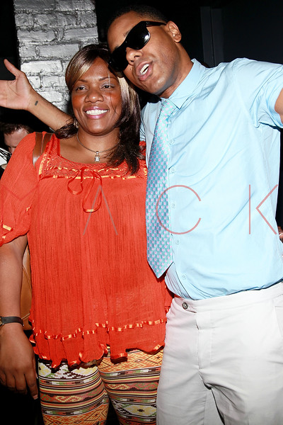 NEW YORK, NY - AUGUST 25:  Nikki D and BJ Coleman attend BJ Coleman's 31st birthday party at The Polar Lounge on August 25, 2011 in New York City.  (Photo by Steve Mack/FilmMagic) *** Local Caption *** Nikki D; BJ Coleman
