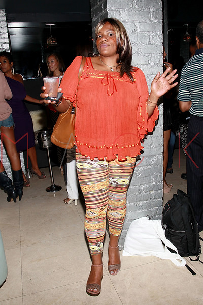 NEW YORK, NY - AUGUST 25:  Nikki D attends BJ Coleman's 31st birthday party at The Polar Lounge on August 25, 2011 in New York City.  (Photo by Steve Mack/FilmMagic) *** Local Caption *** Nikki D
