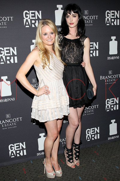 """NEW YORK, NY - AUGUST 15:  Fallon Goodson and Krysten Ritter attend the special screening of """"Life Happens"""" at the Visual Arts Theater on August 15, 2011 in New York City.  (Photo by Steve Mack/S.D. Mack Pictures) *** Local Caption *** Fallon Goodson; Krysten Ritter"""