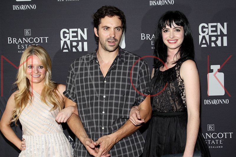 "NEW YORK, NY - AUGUST 15:  Fallon Goodson, Rhys Coiro and Krysten Ritter attend the special screening of ""Life Happens"" at the Visual Arts Theater on August 15, 2011 in New York City.  (Photo by Steve Mack/S.D. Mack Pictures) *** Local Caption *** Fallon Goodson; Rhys Coiro; Krysten Ritter"