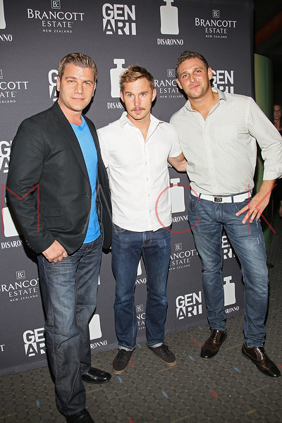"""NEW YORK, NY - AUGUST 15:  Tom Murro, Brian Geraghty and Chris Nirschel attend the special screening of """"Life Happens"""" at the Visual Arts Theater on August 15, 2011 in New York City.  (Photo by Steve Mack/S.D. Mack Pictures) *** Local Caption *** Tom Murro; Brian Geraghty; Chris Nirschel"""