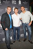 "NEW YORK, NY - AUGUST 15:  Tom Murro, Brian Geraghty and Chris Nirschel attend the special screening of ""Life Happens"" at the Visual Arts Theater on August 15, 2011 in New York City.  (Photo by Steve Mack/S.D. Mack Pictures) *** Local Caption *** Tom Murro; Brian Geraghty; Chris Nirschel"