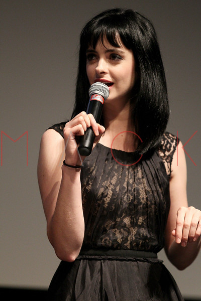 "NEW YORK, NY - AUGUST 15:  Krysten Ritter attends the Q&A of the special screening of ""Life Happens"" at the Visual Arts Theater on August 15, 2011 in New York City.  (Photo by Steve Mack/S.D. Mack Pictures) *** Local Caption *** Krysten Ritter"