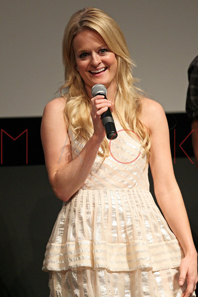 """NEW YORK, NY - AUGUST 15:  Fallon Goodson attends the Q&A of the special screening of """"Life Happens"""" at the Visual Arts Theater on August 15, 2011 in New York City.  (Photo by Steve Mack/S.D. Mack Pictures) *** Local Caption *** Fallon Goodson"""